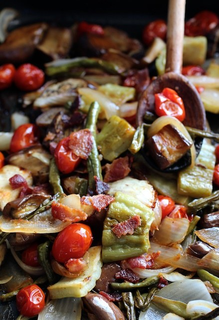 Oven-Roasted Pinakbet with Bacon