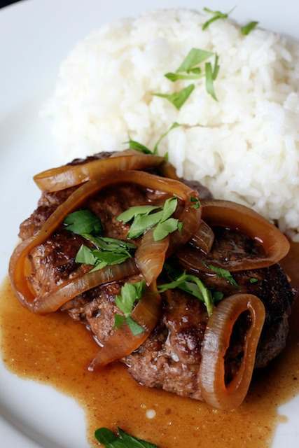 Salisbury Bistek (Filipino Salisbury Steak)