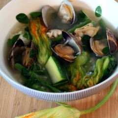 Dinengdeng: Filipino Vegetable Soup with Manila Clams