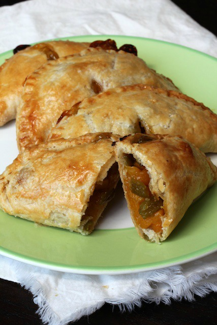 Hatch Chile and Mango Empanadas