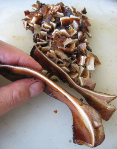 Grilled Pork Ears for Sisig