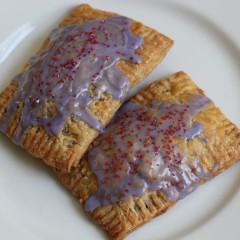 Homemade Ube Pop Tarts