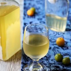 Homemade Limoncello w/ Calamansi Limes (Calamancello)
