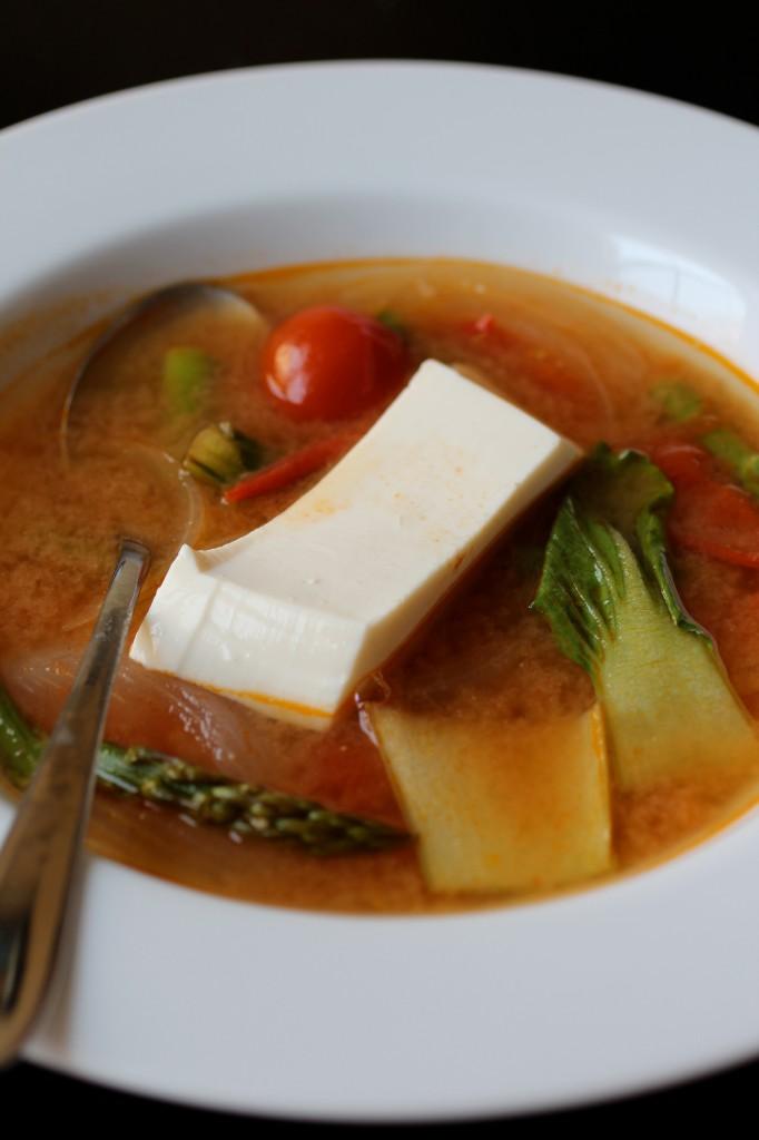 Tofu sinigang
