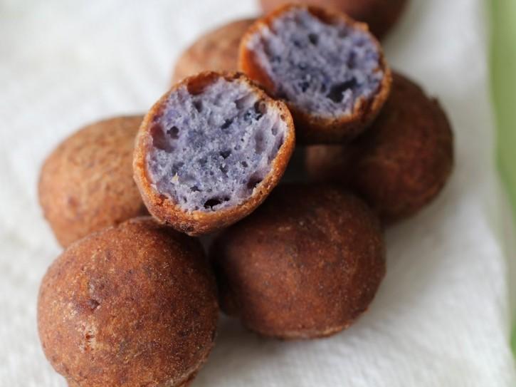 burnt-lumpia-filipino-food-blog-ube-doughnuts-holes