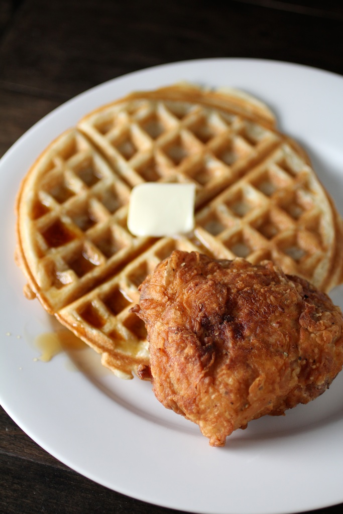 Filipino Chicken and Waffles